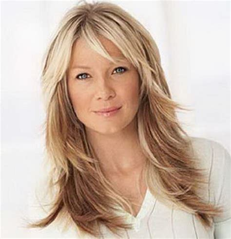 long layers with bangs hairstyles for 2015 for regular people long layered haircuts 2016