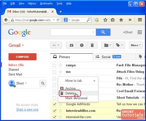 Gmail Search Deleted Emails How To Delete Emails In Gmail