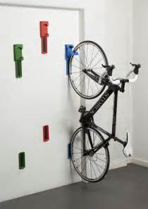 Wall Bike Rack For Garage by Best 25 Hanging Bike Rack Ideas On Wall Bike