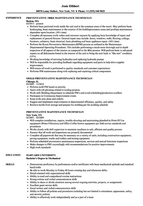 Maintenancetechnicianresume Exle Maintenance Mechanic Resume Mentallyright Org Maintenance Mechanic Resume Template