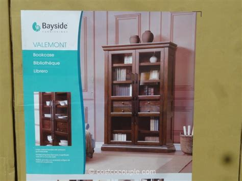 bayside furnishings valemont bookcase
