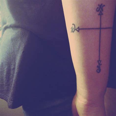 compass cross tattoo newest compass cross tattoos