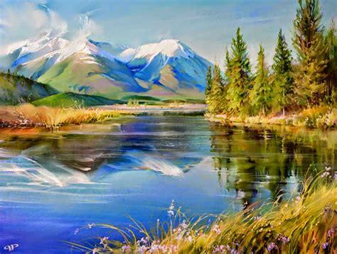 imagenes de paisajes oleo cuadros modernos pinturas y dibujos cuadros al 211 leo de