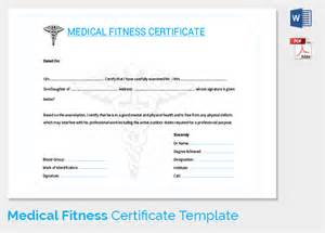 doctor s certificate template search results for physical fitness certificate sle