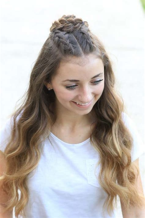 diy cool easy hairstyles  real people     home diy projects  teens