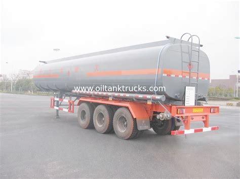 semi trailer truck aluminum alloy liquid tank truck semi trailer