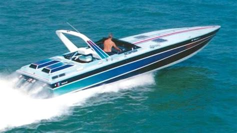 scarab boats shirts 1986 38 scarab kv in naples fl offshoreonly