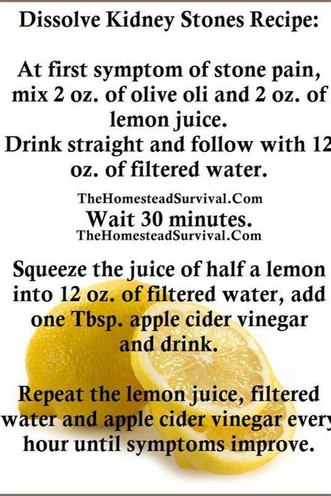 Kidney Detox Lemon Juice by The 25 Best Kidney Remedy Ideas On