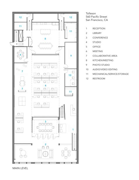 floor plan insurance tolleson offices huntsman architectural group archdaily