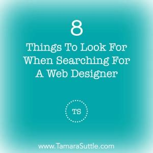 things to consider when looking for that perfect walk out 8 things to look for when searching for a web designer
