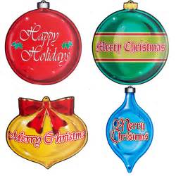 christmas ornaments cutouts