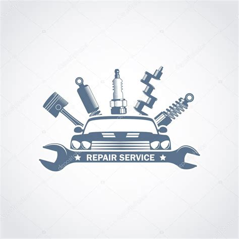 car service logo vector car repair logo stock vector 169 ribz 119383982