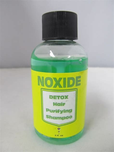 Detox Tobacco Test by Noxide Detox Purifying Shoo 2oz