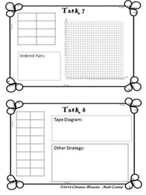 diagram equivalent ratios 6th math ratios proportions on task cards math and w
