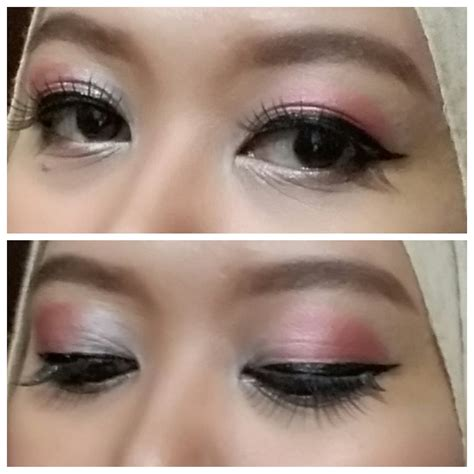 tutorial makeup mata simple tutorial simple make up ala utie kacamata utie