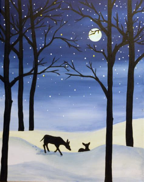 groupon paint nite deer paint at the tank house pub relocated to