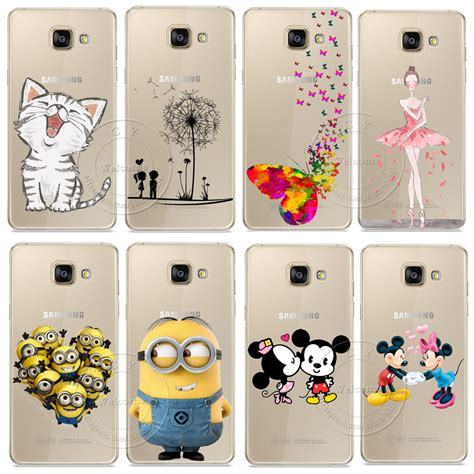 Casing Samsung A3 2017 Mickey And Minnie Mouse Custom minions cat mickey minnie cover for samsung galaxy a310 a510 a710 j110 j510