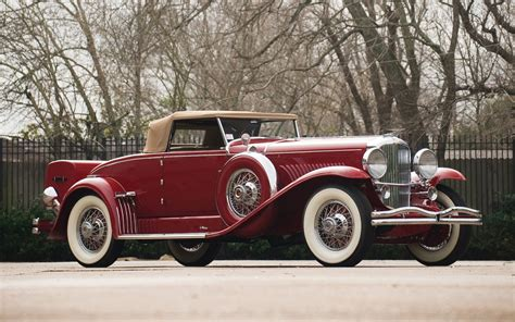 vintage cars 1933 duesenberg sj murphy convertible coupe full hd