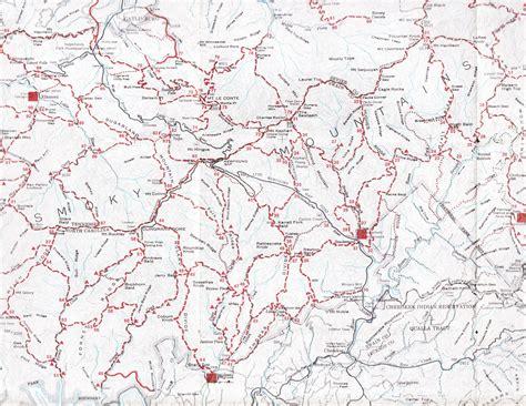 gsmnp trail map gsmnp clickable trail map