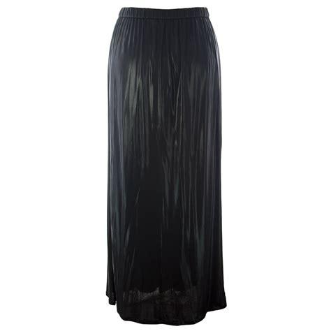 Olla Maxi Skirt marina rinaldi s shiny stretch maxi skirt