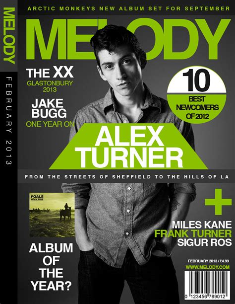 magazine cover layout ideas melody magazine mock cover design by jamiekempdesigns on
