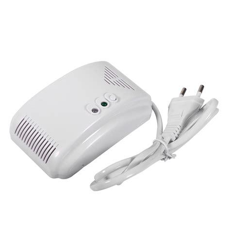Alarm Gas Elpiji 220v gas detector sensor alarm propane butane lpg