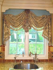 Swag Valances For Windows Designs Instead Of Just A Valance Or Curtains Why Not Hang A Swag From A Center Medallion Your