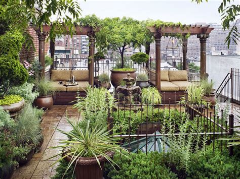 Romantic Loft With Private Roof Garden In New York Wave Garden Design Nyc