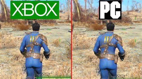 ultra low graphics vs fallout 4 fallout 4 pc vs xbox one graphics test pc ultra vs