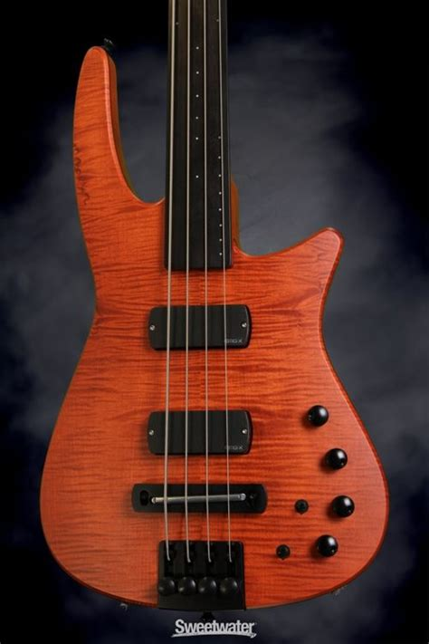 design dream guitar my dream bass ns design cr4 radius bass guitar amber