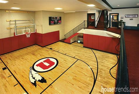 Taking It To The Hoop Basketball Room Designs Basketball Room