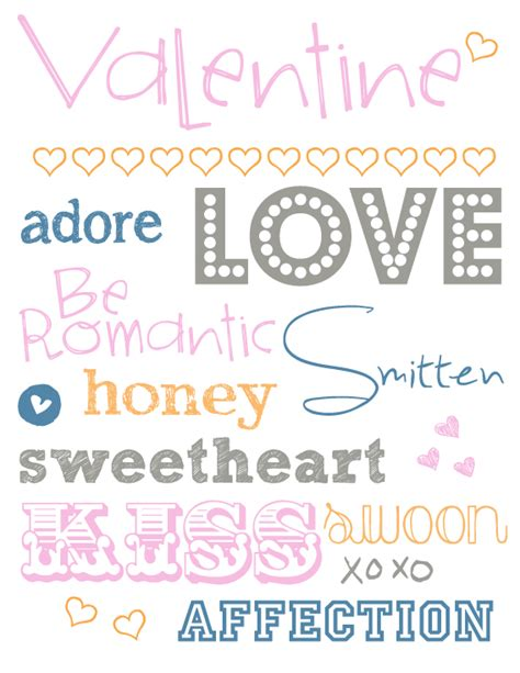 free printable valentines fonts free fonts