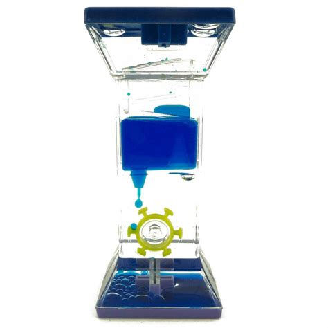liquid motion desk toy colorful liquid lava fidget timer oil clock kids toy party