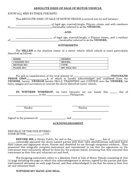 sample generic bill of sale form 10 free documents in pdf