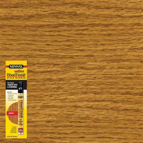 minwax 1 3 oz cherry wood finish stain marker 63486 the
