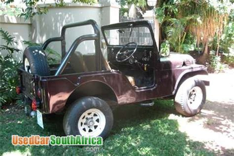 Willys Jeeps For Sale In Sa 1950 Jeep Willys Used Car For Sale In Pretoria East