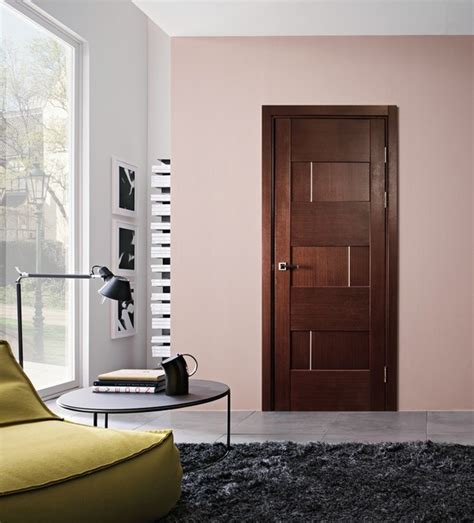 home interior door dominika modern interior door wenge finish modern