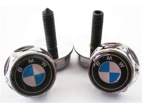 bmw license plate bolts 2008 up mini cooper smart key fob replacement ring