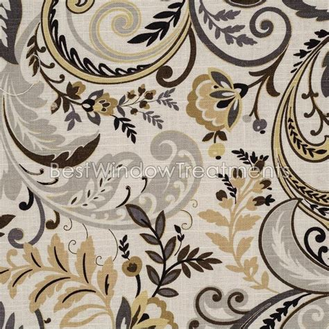 fabric for window treatments 21 best images about paisley print woven weaves fabric