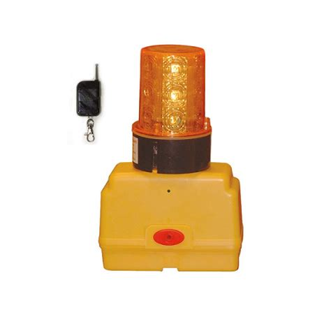 remote activated strobe light remote controlled warning light