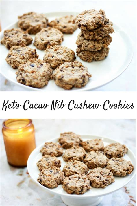 Krakakoa Cacao Nibs Coconut Cashew mind ahoy keto cacao nib cashew cookies paleo