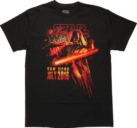 Tshirt Darth Vader wars darth vader sdcc 2016 t shirt