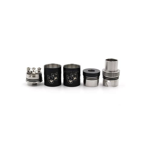Rda Two 22mm Atomizer two blue 22mm stainless steel rda rebuildable
