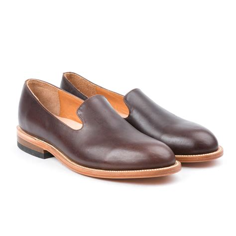 Handcrafted Footwear - loafer cognac us 7 2120 handcrafted shoes touch