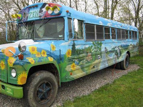 Convert Bath Into Shower hippie bus picture of pegasus farm campground elkins