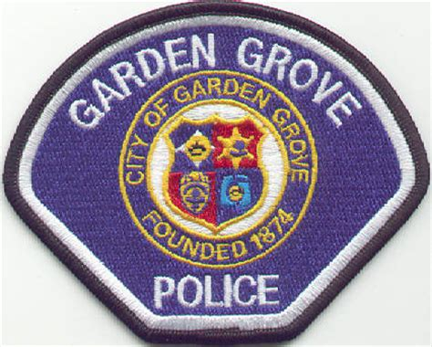 Garden Grove Ca Department California Department