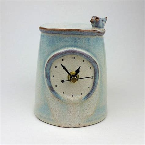Handmade Ceramic Clocks - 1000 ideas about handmade mantel clocks on
