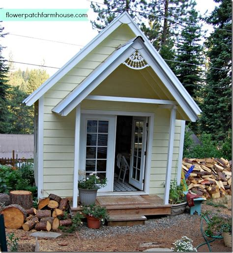 build your own bungalow build your own crafting cottage or garden shed flower