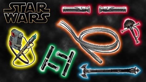 different lightsaber colors different lightsaber styles legends wars