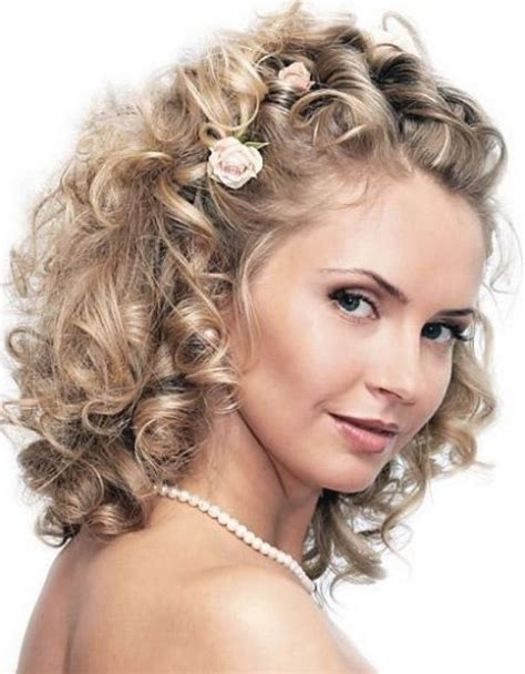 Wedding Hairstyles Curly Medium Length Hair by Wedding Hairstyles Curly Hair Medium Fade Haircut